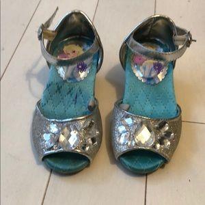 Beautiful Disney Elsa princess shoes